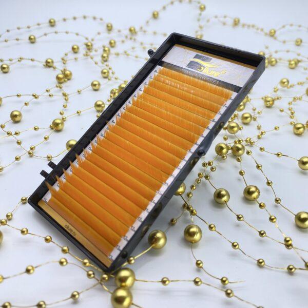 Ресницы оранжевые Ollure